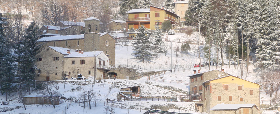 Papiano paese tipico casentinese